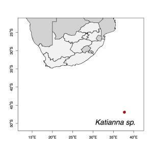 Katianna sp Map