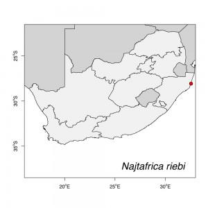 Najtafrica riebi Map