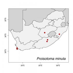 Proisotoma minuta Map