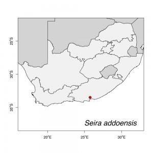 Seira addoensis Map