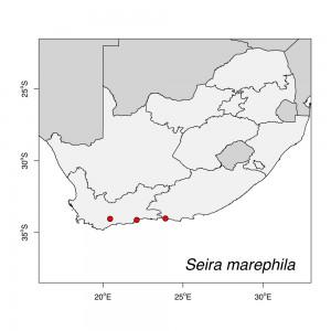 Seira marephila Map
