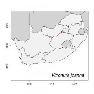 Vitronura joanna Map